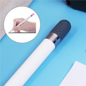 Voor Apple Pencil creatieve anti-verloren potlood Cap TouchPen siliconen beschermende Cap(Grey)