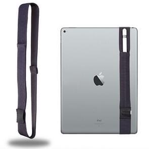 Voor Apple Pencil / 12 9 inch iPad algemene hoge elastische Band Apple potlood Band beschermende Bag(Grey)