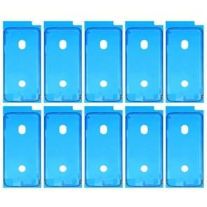 10 stuks voor iPhone 8 LCD Frame Bezel zelfklevende Stickers(Black)