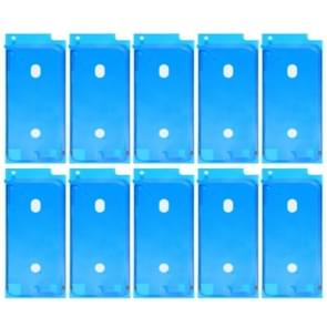 10 stuks voor iPhone 8 LCD Frame Bezel zelfklevende Stickers(White)