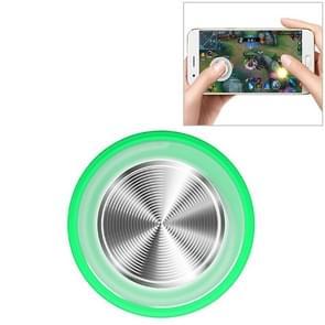 Q8plus mobiele telefoon spel koning Glory Game handvat sucker Rocker Game Assist tools (groen)
