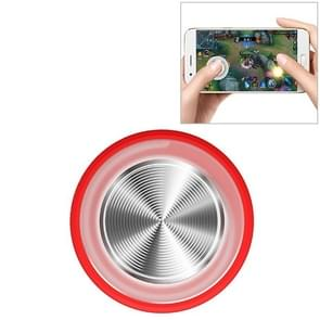 Q8plus mobiele telefoon spel King Glory spel handvat sucker Rocker Game Assist tools (rood)
