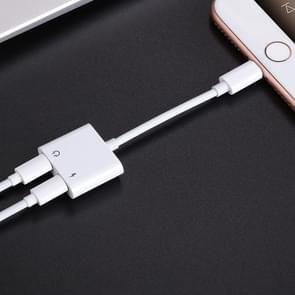 JOYROOM S-M403 ben Series Apple Dual Lightning adapter  lengte: 1 2 m (wit)