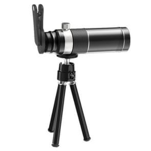 Universele 20X mobiele telefoon HD Telephoto telescoop lens met statief & clip