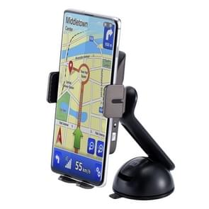 Momax CM12 Q. MOUNT SMART 2 auto infrarood sensor mobiele telefoon QI draadloze oplaad stand houder set (zwart)