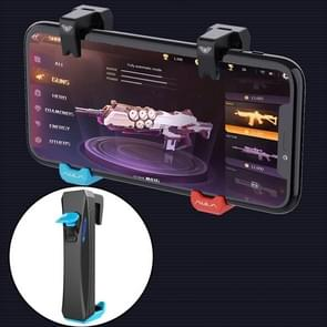F11 Eat Chicken Mobile Phone Automatische Verbinding Capacitance Game Keys Button Handle (Blauw)