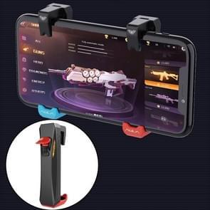 F11 Eten Kip mobiele telefoon automatische verbinding Capacitance Game Keys Button Handle (Rood)