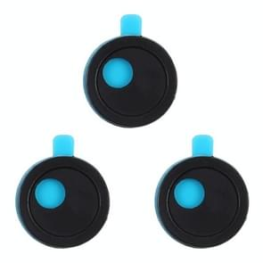 3 PCS Round Appearance Universal Ultra-thin Design WebCam Cover Shutter Slider Camera Cover for Laptop / iPad / PC / Tablet / Cell Phones(Black)