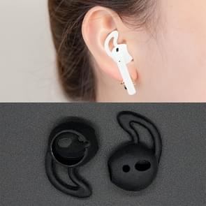 Wireless Bluetooth Earphone Silicone Ear Caps Earpads for Apple AirPods (Black)