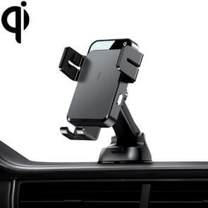 JOYROOM JR-ZS219 Drie-assige auto dashboard draadloos opladen mobiele telefoon beugelhouder (zwart)