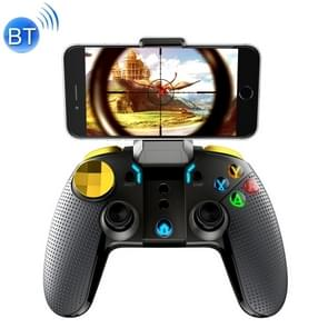 ipega PG-9118 Golden Warrior Wireless Bluetooth  Gaming Controller Grip Game Pad with Bracket & LED Light(Black)