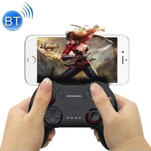SHINECON Game Handle Mobile Bluetooth Adapter King Glory Game Assistant Tool (Black)