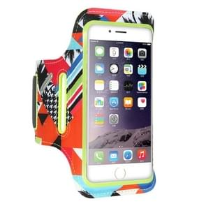 FLOVEME Printed Universal Smart Touch Telephone Armband Case, For iPhone 8 Plus & 7 Plus & 6s Plus & 6 Plus(Green)
