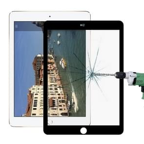 9H 10D Explosion-proof Tempered Glass Film for iPad 5 & 6 9.7 inch (Black)