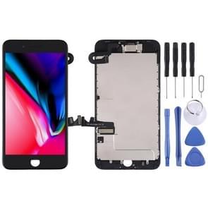 LCD-scherm en Digitizer Full Assembly zijn voorzien van frontcamera voor iPhone 8 Plus(Zwart)