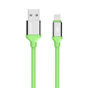 JOYROOM JR-S318 3m 2.1a 8 Pin op USB Sync opladen datakabel  voor iPhone X  8 iPhone  iPhone 7 & 7 Plus  iPhone 6 & 6s  iPhone 6 Plus & 6s Plus  iPhone 5 & 5s & 5 C  iPad Air  iPad mini(Green)
