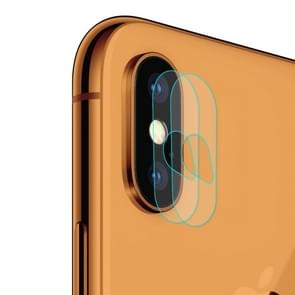 ENKAY Hat-Prince 0.2mm 9H 2.15D Rear Camera Lens Tempered Glass Film for iPhone XS Max