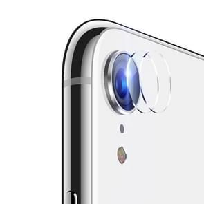 ENKAY Hat-Prins 0.2mm 9H 2.15D Rear Camera Lens getemperd glas Film voor iPhone XR