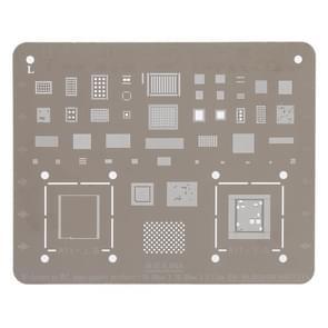Mobiele telefoon Rework reparatie BGA Reballing Stencils voor iPhone X / 8 / 8 Plus
