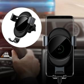 lenuo CL-27 universele auto lucht vent Mount Clamp telefoon zwaartekracht houder  voor iPhone  Galaxy  Sony  Lenovo  HTC  Huawei en andere smartphones (grijs)