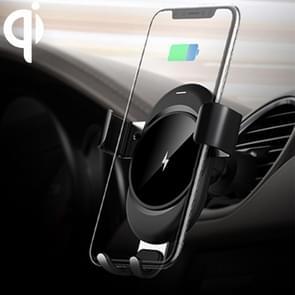 lenuo CL-28 klemmen zwaartekracht houder Car Air Vent Mount Qi Wireless Charger  voor iPhone  Galaxy  Sony  Lenovo  HTC  Huawei en andere Smartphones (zwart)