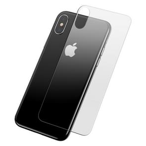 Baseus 0.3mm Tempered Glass Protector Back Screen Film for iPhone XS Max(Transparent)