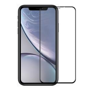 ENKAY Hat-Prince 0.26mm 9H 6D Curved Full Screen Tempered Glass Film for iPhone XR (Black)