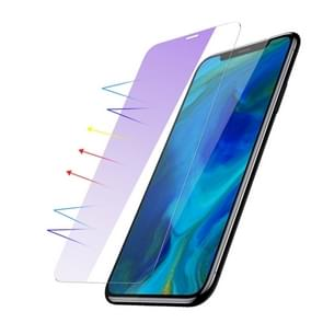 Baseus 0.15mm Anti Blue-ray Full Tempered Glass Film (Secondary Reinforcement ) for iPhone XS Max (Transparent)