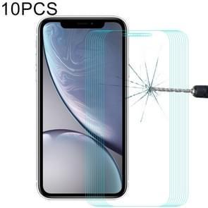 10 PC's ENKAY Hat-Prins 0 26 mm 9H 2.5D Tempered glas Film voor iPhone XR