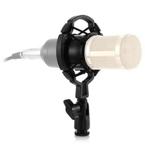 Plastic Microphone Shock Mount Holder Stand, for Studio Recording, Live Broadcast, Live Show, KTV, etc.
