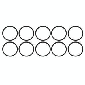 10 stuks voor iPhone X & 8 & 8 Plus Card lade waterdichte ringen
