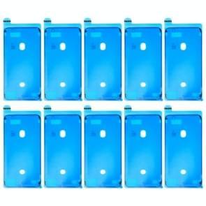 10 stuks voor iPhone 8 Plus LCD Frame Bezel zelfklevende Stickers(Black)