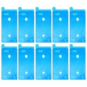 10 stuks voor iPhone 8 Plus LCD Frame Bezel zelfklevende Stickers(White)