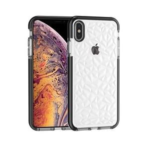 Diamond Texture TPU Case for  iPhone XS Max(Black)