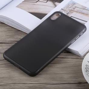 Ultradunne mat PP Case voor iPhone XS Max(Black)