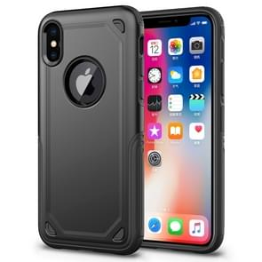 Shockproof Rugged Armor Protective Case for  iPhone XS Max(Black)