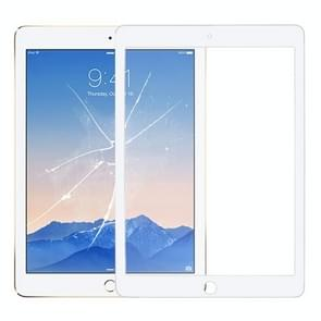Glazen lens voor het scherm aan de voorkant voor iPad Air 2 / A1567 / A1566 (wit)