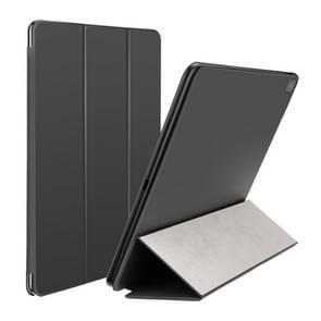 Baseus Concise Style Horizontal Flip Magnetic PU Leather Case for iPad Pro 11 inch (2018), with Three-folding Holder & Sleep / Wake-up Function(Black)