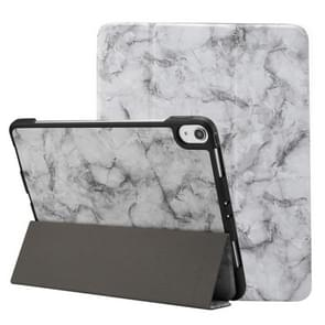 Marble Texture Pattern Horizontal Flip Leather Case for iPad Pro 11 inch (2018) , with Three-folding Holder & Pen Slot & Sleep / Wake-up Function(Black)