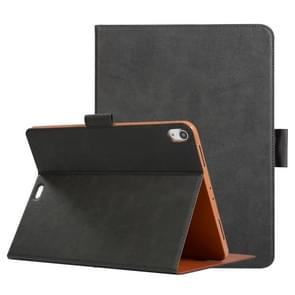 Pressed Texture Ultra-thin Horizontal Flip Leather Case for iPad Pro 11 inch 2018, with Holder & Card Slots & Pen Slot (Grey)