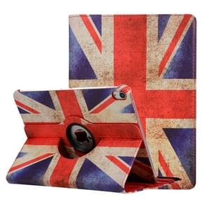 British Flag Pattern Horizontal Flip Leather Case for iPad Pro 11 inch 2018, with 360 Degrees Rotating Holder