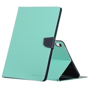 MERCURY GOOSPERY FANCY DIARY Horizontal Flip Leather Case for iPad Pro 11 inch, with Holder & Card Slots & Wallet(Mint Green)