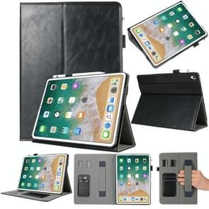 Genuine Leather Protective Case for iPad Pro 11 inch (2018), with Holder & Card Slots (Black)