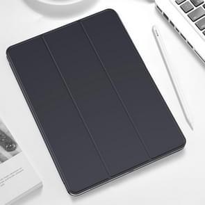 TOTUDESIGN Horizontal Flip Leather Case for iPad Pro 11 inch (2018), with Holder & Sleep / Wake-up Function (Grey)