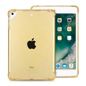 Highly Transparent TPU Full Thicken Corners Shockproof Protective Case for iPad Pro 12.9 (2018) (Gold)