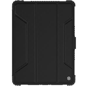 NILLKIN Bumper Horizontal Flip Leather Case for iPad Air 2019 / iPad Pro 10.5 2017 ,with Pen Slot (Black)