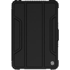 NILLKIN Bumper Horizontal Flip Leather Case for iPad Mini 2019 / iPad Mini 4 ,with Pen Slot (Black)