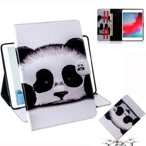 Panda Pattern Horizontal Flip Leather Case for iPad Mini (2019) / 4 / 3 / 2 / 1, with Holder & Card Slot & Wallet