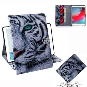 Tiger Pattern Horizontal Flip Leather Case for iPad Mini (2019) / 4 / 3 / 2 / 1, with Holder & Card Slot & Wallet