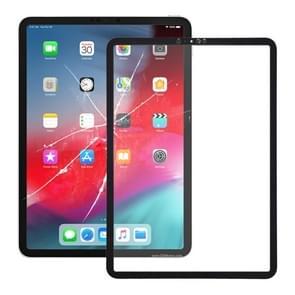Voorkant scherm buitenste glazen lens voor iPad Pro 11 inch (zwart)